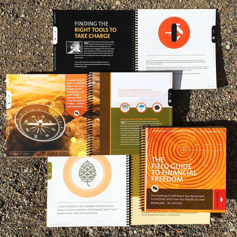Studio Hill Brochure Design