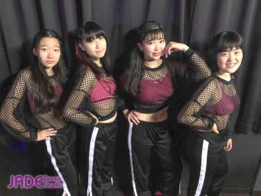 「函館港まつり感謝祭・ワンコインガールズイベント」JADE Dance Studio・アドバンス2