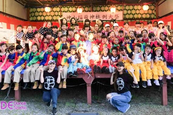 神山稲荷神社祭に出演