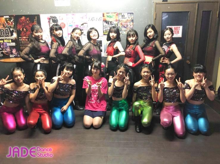 「函館港まつり感謝祭・ワンコインガールズイベント」JADE Dance Studio