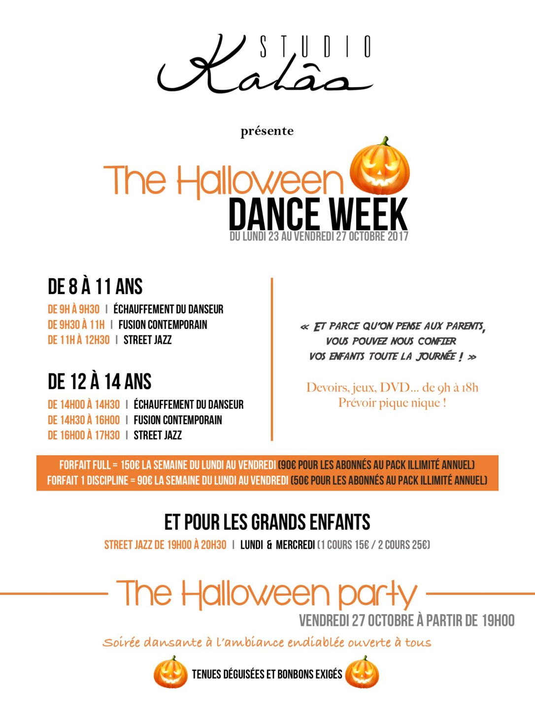 HALLOWEEN DANCE WEEK