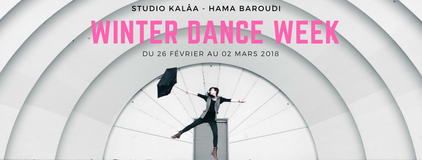 SAVE THE DATE ! Winter Dance Week !