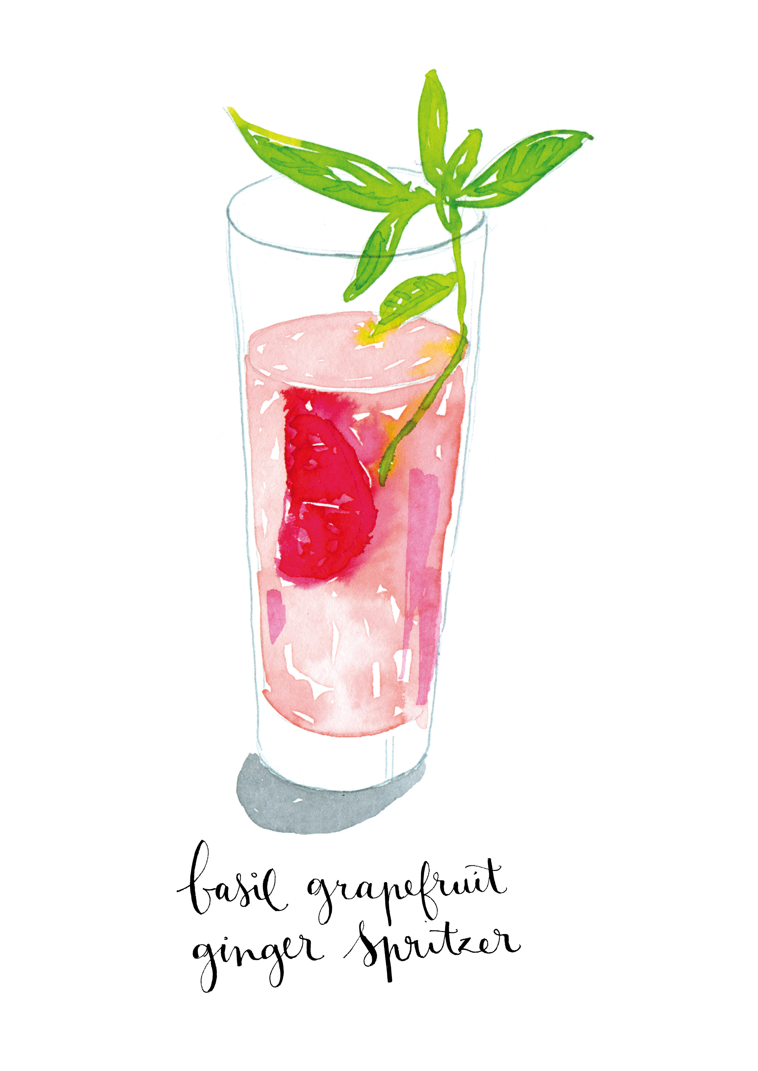 Watercolor Cocktails  Made with love and watercolor