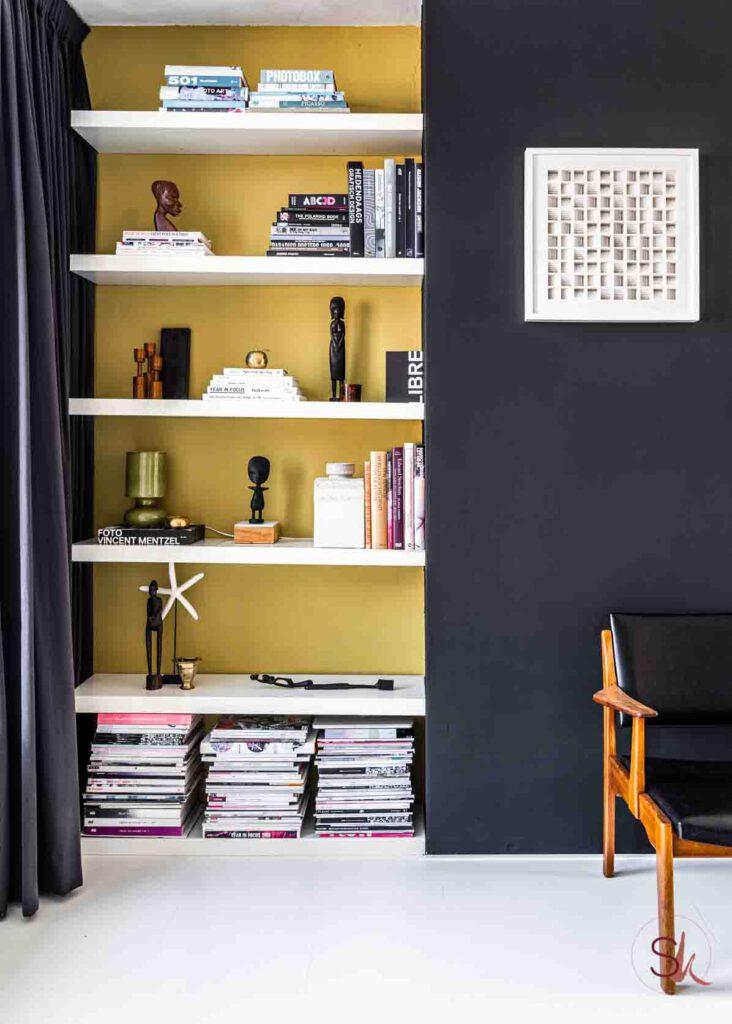 Simpel en snel een nieuw interieur met een lik verf en nieuwe accessoires