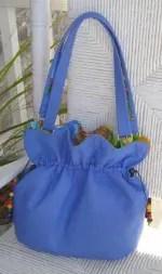 A light-weight denim makes for a beautiful Bag