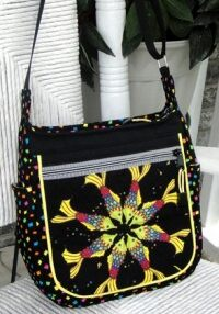 """Embellishing purse exteriors is fun and easy with """"Kat"""" Tricks!"""