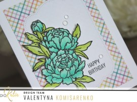 Floral Birthday Card with Valentyna!