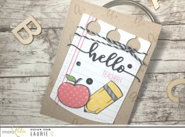 Back to School   Theme Week – Day 1 with Laurie!