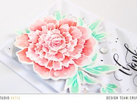 Pastel Thank You Card with Erum