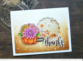 Thank You / Fall Cards | Theme Week – Day 3 with Rowena