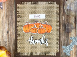 Thank You / Fall Cards | Theme Week – Day 2 with Svitlana