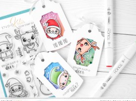 Christmas Gift Tags | Theme week – Day 4 with Natalia