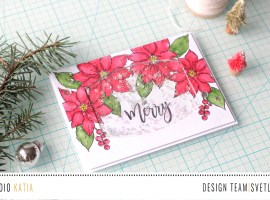 Be Merry Shaker Card with Svetlana