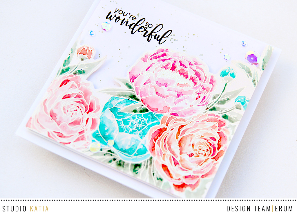 Studio Katia Blooming Bunch Watercoloured by Erum Tasneem | @pr0digy0