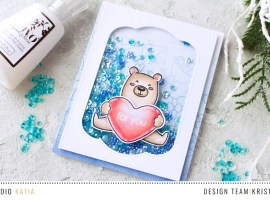 For You Shaker Card with Kristina