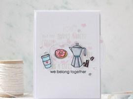 Coffee Spinner Card with Svetlana