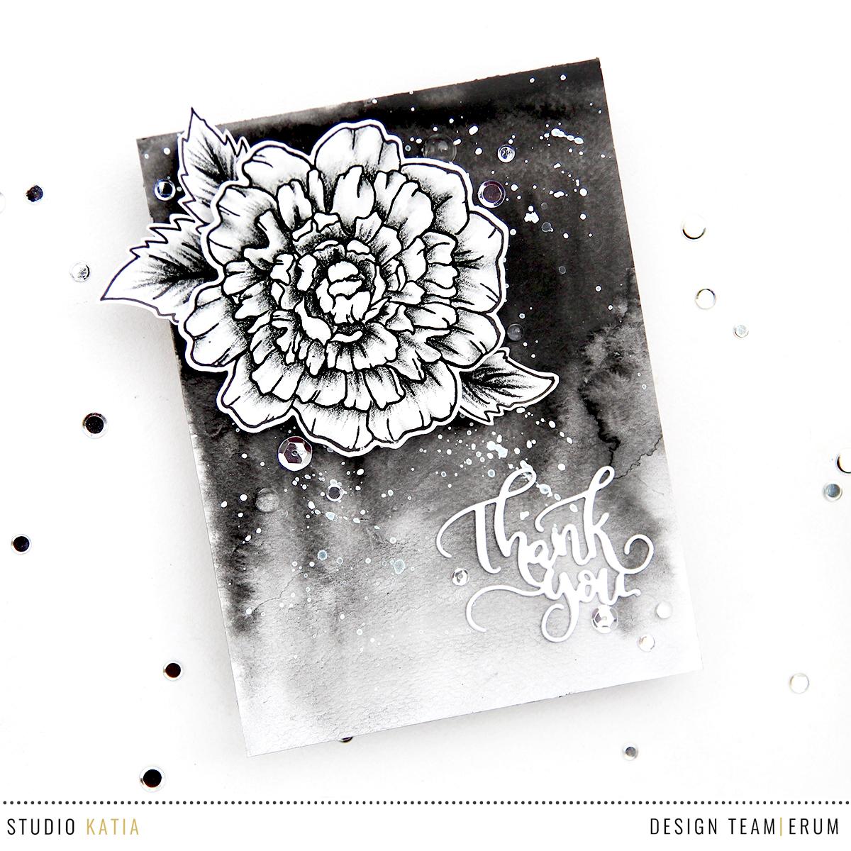 Studio Katia Thank You So Much Stamp Set | Erum Tasneem | @pr0digy0