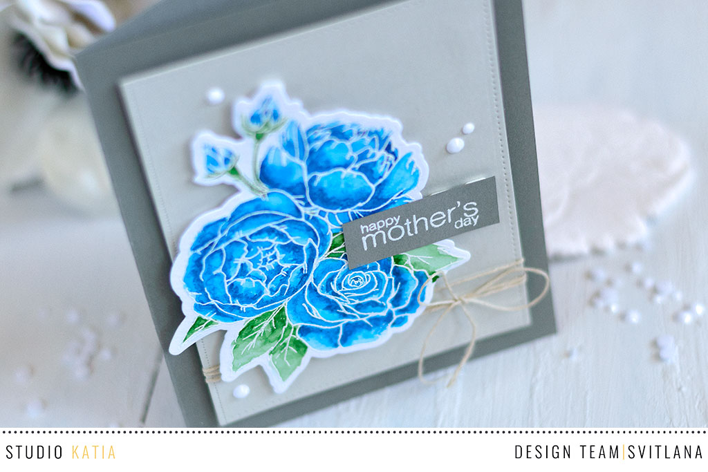Theme Week | Feminine/ Mother's Day Cards – Day 1 with Kaja