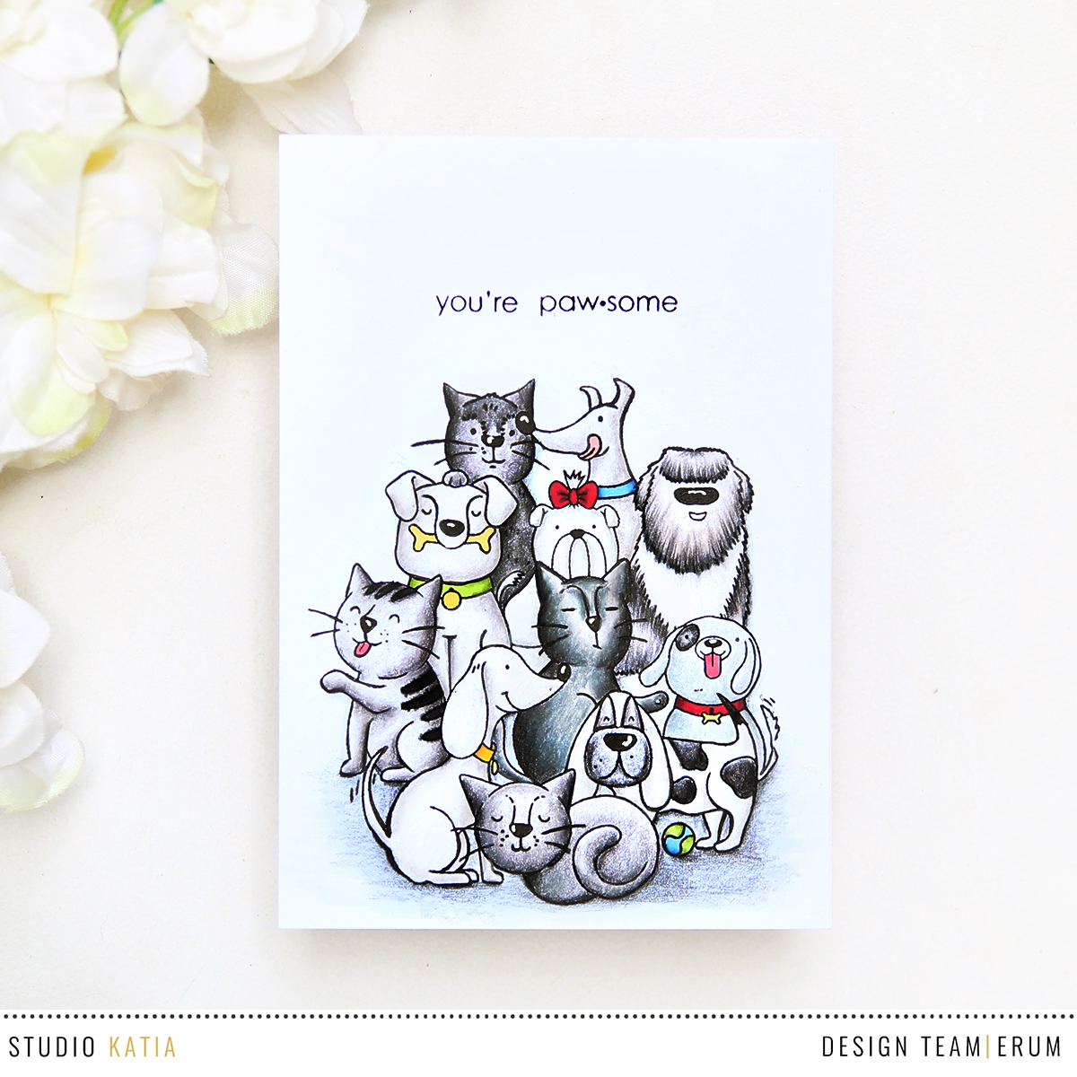 Studio Katia Best Friends Stamp Set | Erum Tasneem | @pr0digy0