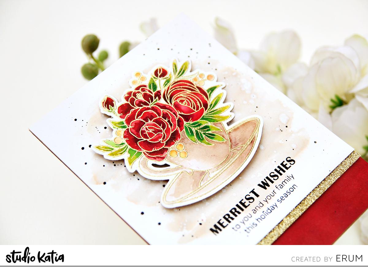 Studio Katia A Cup of Thanks Stamp Set | Erum Tasneem | @pr0digy0