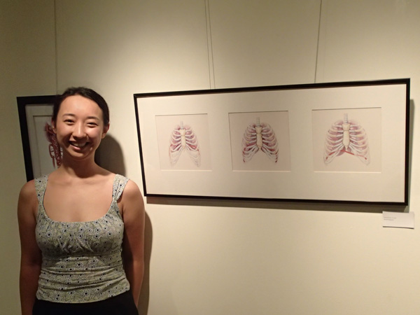ikumi_exhibit2013 medical illustration