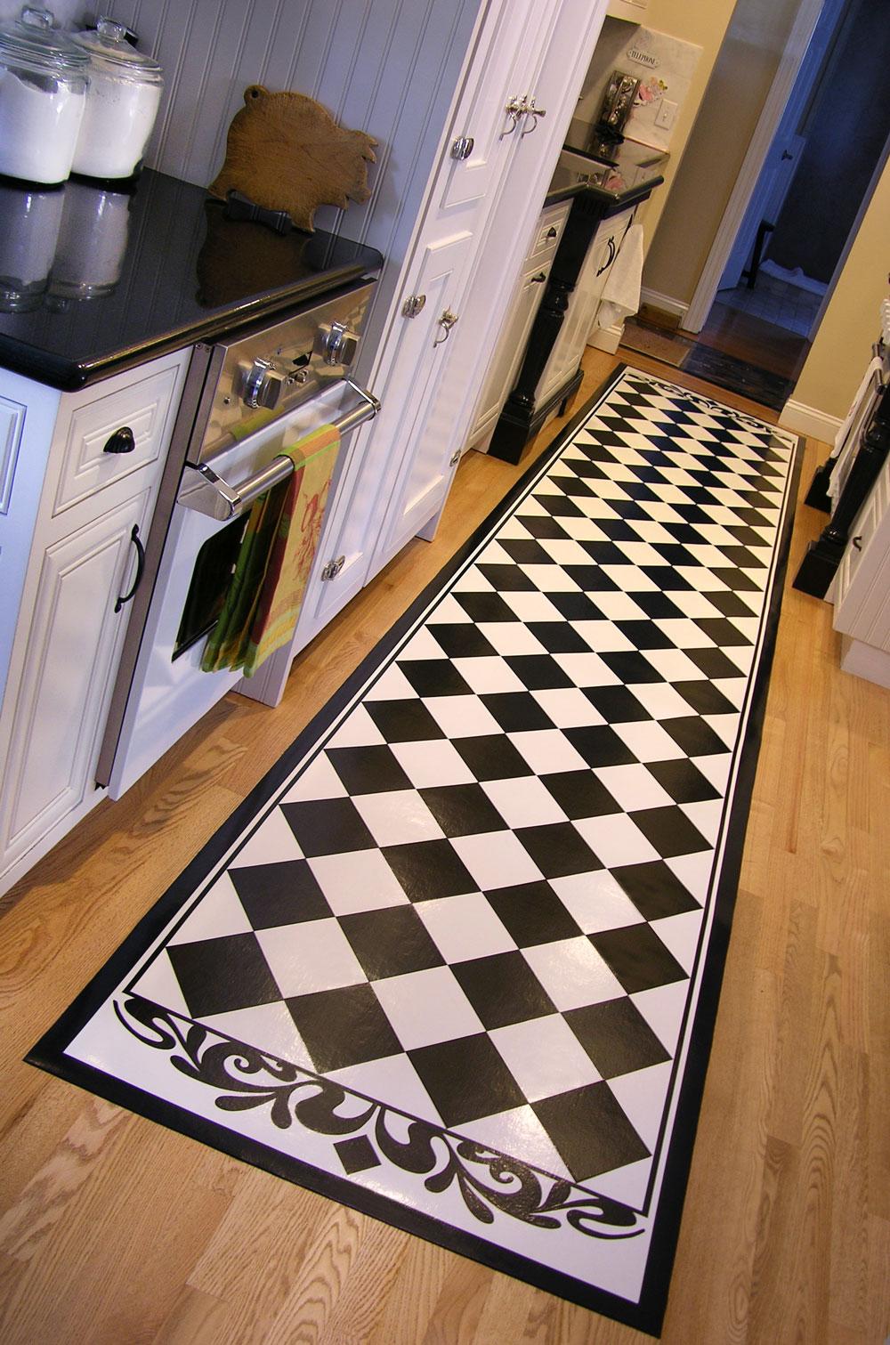 kitchen floor runner cabinets lowes long runners studio k blog pic1 pic2 47