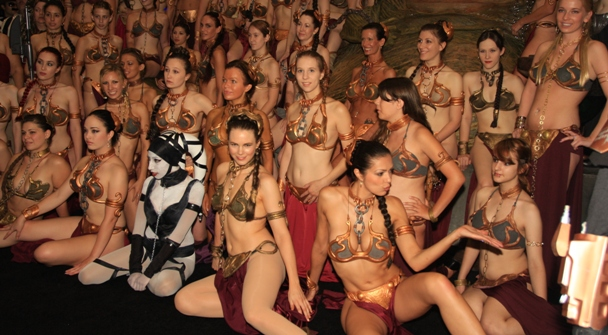 The Princess Leia Slave Costume in Pictures