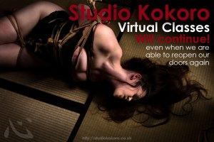 Studio Kokoro Virtual Classes Will continue
