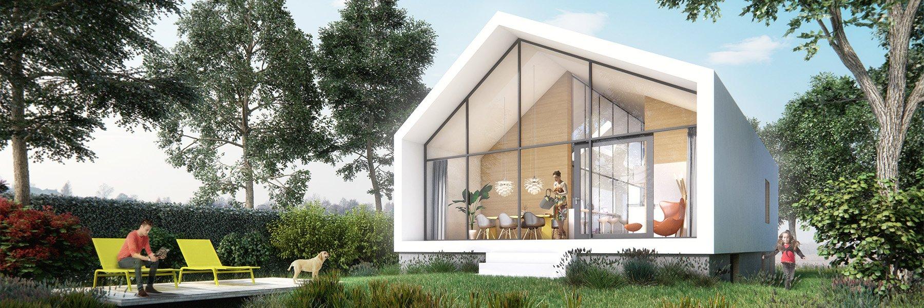 Studio Komma architecten vrije kavel woningen