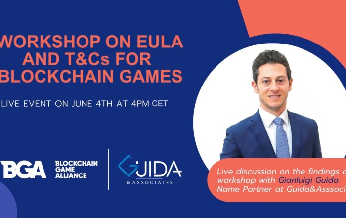 Tomorrow Gianluigi Guida will be speaker at this workshop on EULA