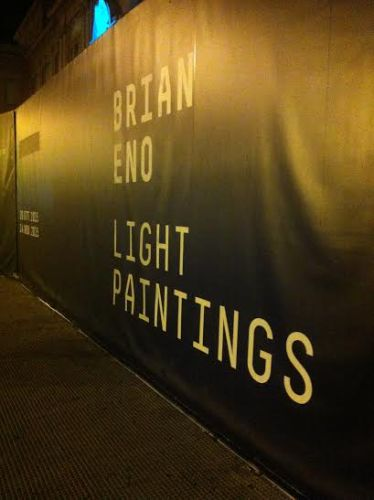Light paintings – Brian Eno