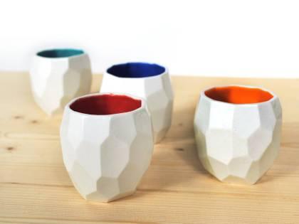 Poligon espresso cups