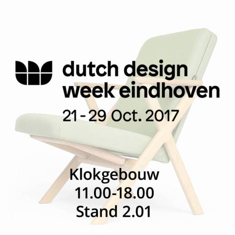 Next 9 days we will be showcasing the Hybrid Chair at the Dutch design week in Eindhoven. Location klokgebouw, open 11.00 till 18.00 #2017