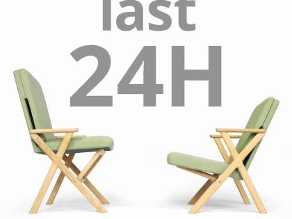 LAST CHANCE: only 24h to go to support the Hybrid Chair on Kickstarter. We are on 96 @dutchdesignweek #24