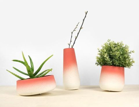 How about some new shapes and colors for the flowerpot collection? On show in Milan in two weeks and soon available for pre-order