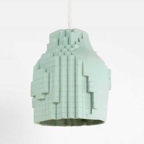 Pendant lamp from the pixel collection