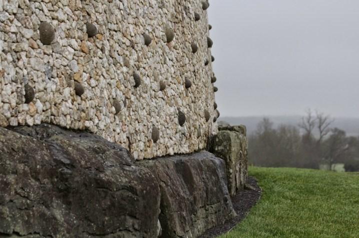 Newgrange passage tomb (also known as Brú Na Bóinne), built in 3200 BC. Boyne River Valley, Ireland.