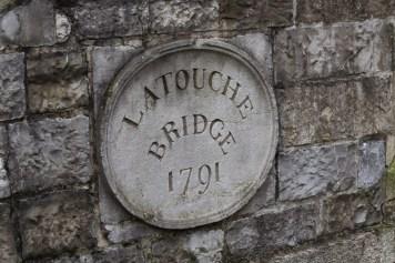 Latouche Bridge, better known at Portobello Bridge, across Dublin's Grand Canal. Said to be haunted.