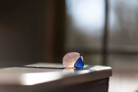 Glass and Stone c2018 Lucy Mathews Heegaard