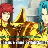 Gold Saint - Ares Chapter: Descubra quem são os personagens e escolha qual será o seu lado na próxima Guerra Santa