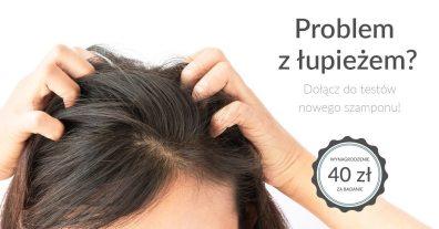Kampania testowania szamponu przeciwłupieżowego
