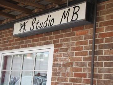 Studio MB sign