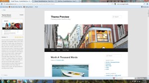screenshot of theme Twenty Eleven