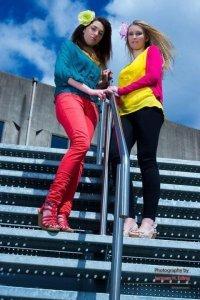 Modellen: Eefje van der Heijden en Aniek Leautaud Fotograaf: Jacques Eding Mua: Marina Raaijmakers