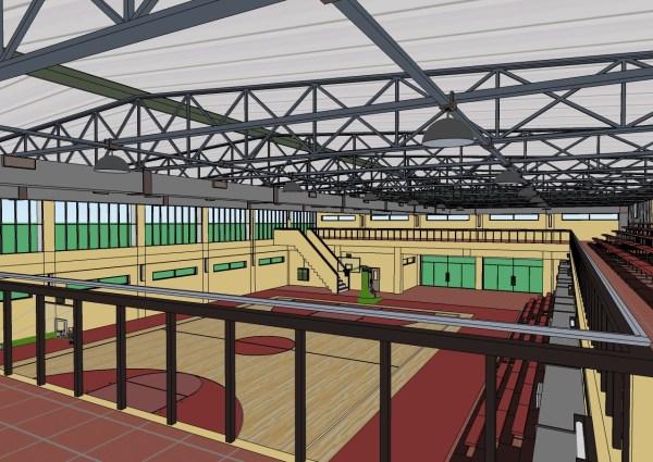 Free Sketchup Model School Basketball Multi-purpose