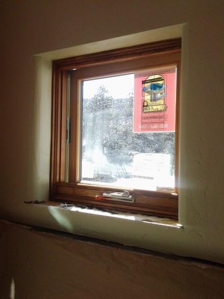 Drywall Window Return