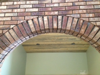 Archway to office/ bedroom