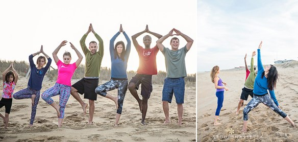 beach-yoga-class-outer-banks-nc
