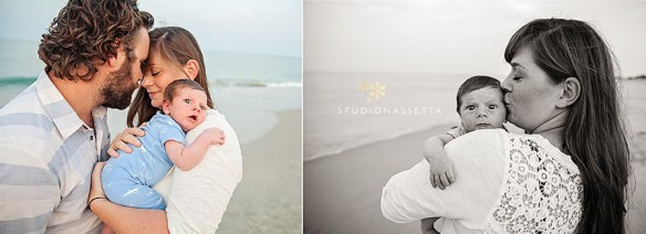 newborn-family-intimate-moment-nagshead-nc