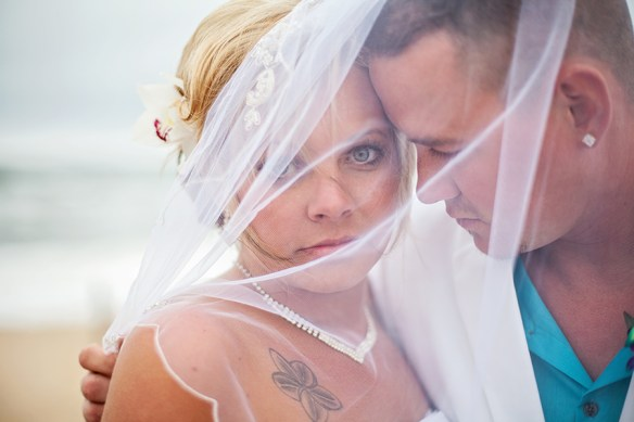 Outer-Banks-wedding-photography-gorgeous-bride-groom-portrait-veil-nagshead-NC